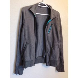 ℓυℓυℓємσи - Grey Zip Up Jacket